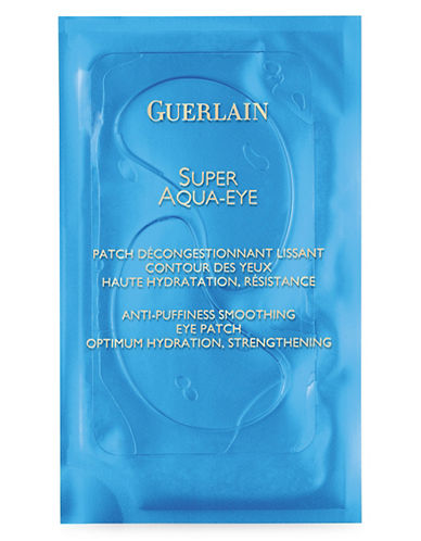 Guerlain Super Aqua Eye Patchs Anti Puffiness Smoothing Eye Patch-NO COLOUR-One Size