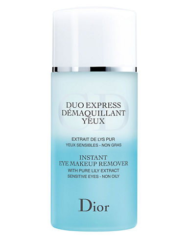 Dior Instant Eye Makeup Remover - Sensitive Eyes-NO COLOUR-125 ml