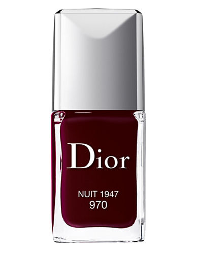 Dior Dior Vernis Gel Shine and Long Wear Nail Lacquer-NUIT-One Size
