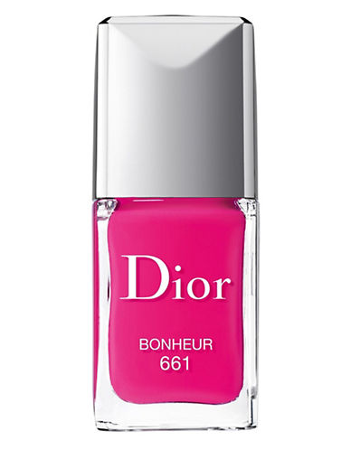 Dior Dior Vernis Gel Shine and Long Wear Nail Lacquer-BONHEUR-One Size