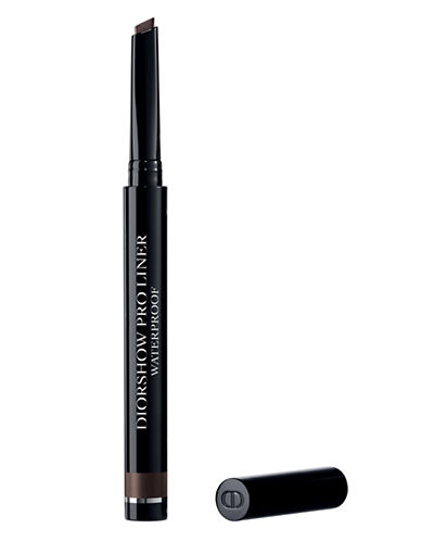 Dior Diorshow Pro Liner Bevel-Tip Eyeliner-BACKSTAGE BROWN-One Size