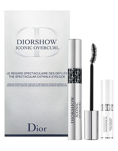 Dior Diorshow Iconic Overcurl The Spectacular Catwalk Eye Look Set-NO COLOUR-One Size