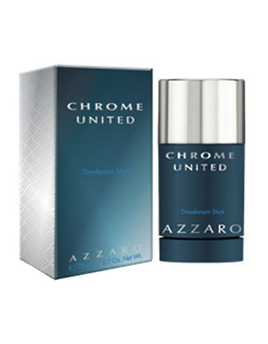 Azzaro Chrome United Deodorant 75ml-NO COLOUR-One Size