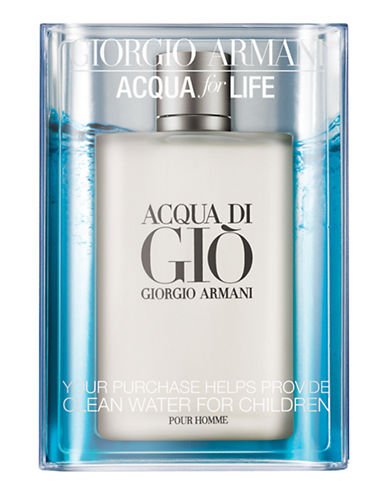Giorgio Armani Acqua di Gio Acqua for Life Limited Edition Value Size-NO COLOUR-200 ml