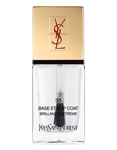 Yves Saint Laurent La Laque Couture La Vernitheque-N 30 BASE AND TOP COAT-One Size