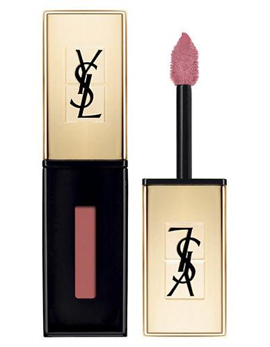 Yves Saint Laurent Rouge Pur Couture Vernis à Lèvres Glossy Stain-07 CORAIL AQUATIQUE-One Size