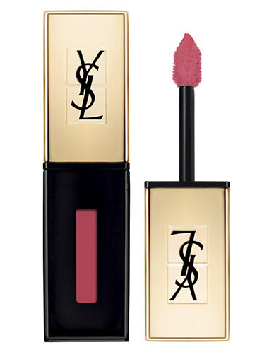 Yves Saint Laurent Rouge Pur Couture Vernis à Lèvres Glossy Stain-12 CORAIL FAUVE-One Size