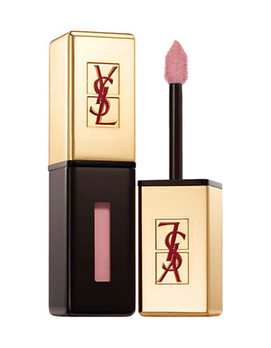 Yves Saint Laurent Rouge Pur Couture Vernis à Lèvres Glossy Stain-19 BEIGE AQUARELLE-One Size