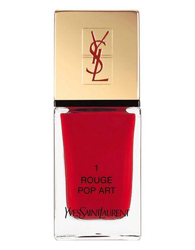 Yves Saint Laurent La Laque Couture La Vernitheque-N 1 ROUGE POP ART-One Size