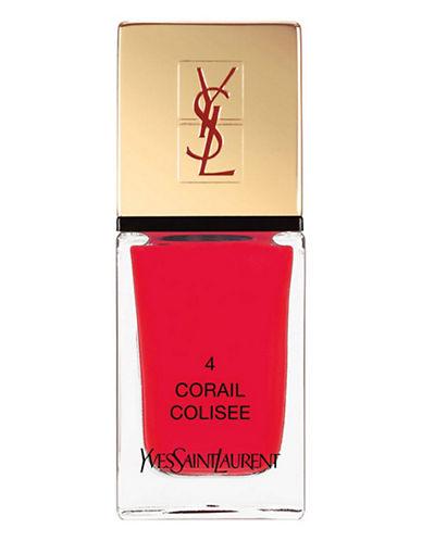 Yves Saint Laurent La Laque Couture La Vernitheque-N 4 CORAIL COLISEE-One Size