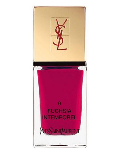 Yves Saint Laurent La Laque Couture La Vernitheque-N 9 FUCHSIAINTEMPOREL-One Size