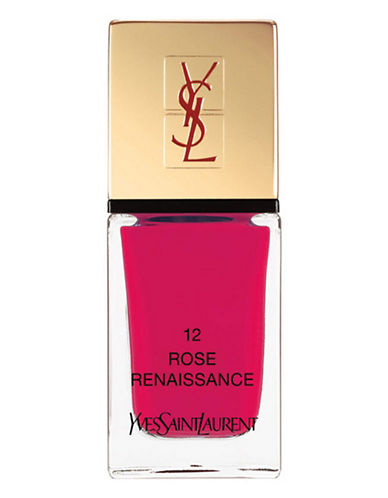 Yves Saint Laurent La Laque Couture La Vernitheque-N 12 ROSE RENAISSANCE-One Size