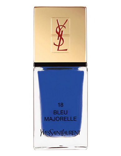 Yves Saint Laurent La Laque Couture La Vernitheque-N 18 BLEU MAJORELLE-One Size