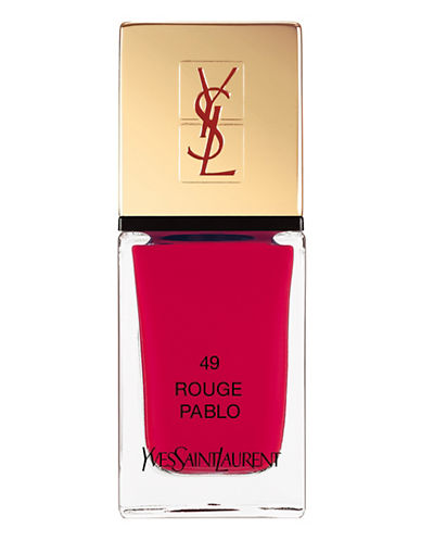 Yves Saint Laurent La Laque Couture-ROUGE PABLO-One Size