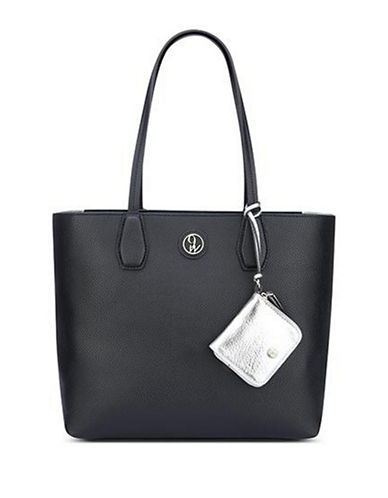 Nine West Caden Tote-BLACK-One Size
