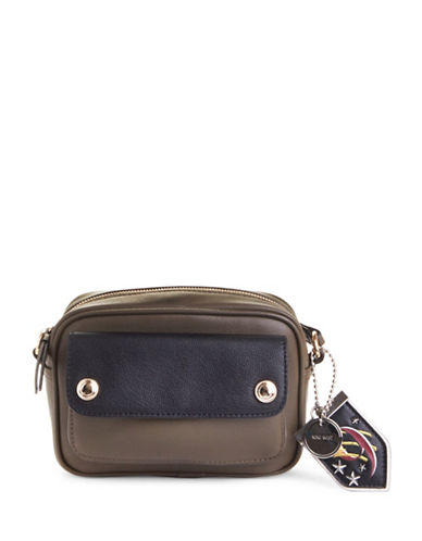 Nine West Iona Crossbody Bag-GREEN-One Size