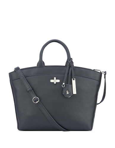 Nine West Ryloh Tote-BLACK-One Size