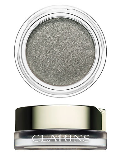 Clarins Cream-to-Powder Iridescent Eyeshadow-SILVER GREEN-One Size