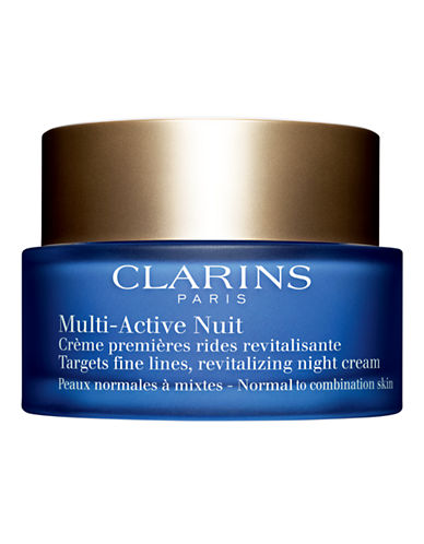 Clarins Multi-Active Night Cream for Normal to Combination Skin-NO COLOUR-One Size