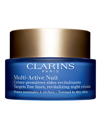 Clarins Multi-Active Night Cream for Normal to Dry Skin-NO COLOUR-One Size