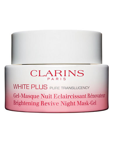 Clarins White Plus Brightening and Renewing Night Gel-Mask-NO COLOUR-50 ml
