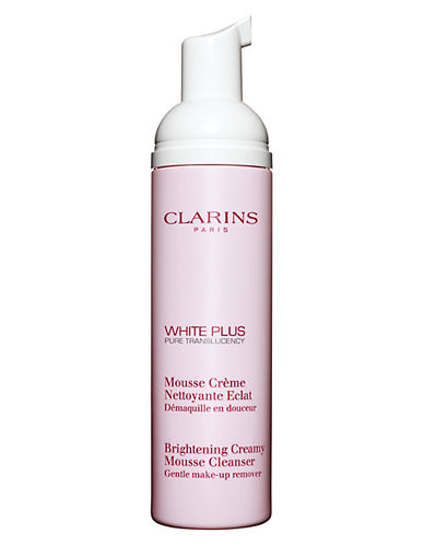 Clarins White Plus - Brightening Creamy Mousse Cleanser-NO COLOUR-125 ml