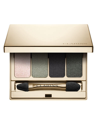 Clarins Four-Colour Eyeshadow Palette-FOREST-One Size