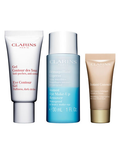 Clarins Eye Contour Gel Three-Piece Set-NO COLOR-One Size