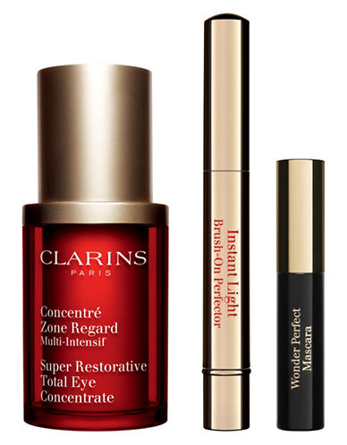 Clarins Super Restorative Eye Care Three-Piece Set-NO COLOR-One Size