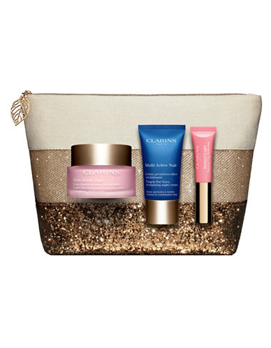 Clarins Multi-Active Four-Piece Set-NO COLOR-One Size