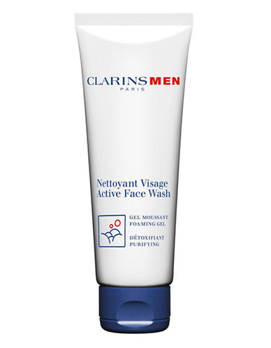 Clarins Men Active Face Wash-NO COLOUR-125 ml