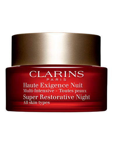 Clarins Super Restorative Night Cream  All skin types-NO COLOUR-50 ml