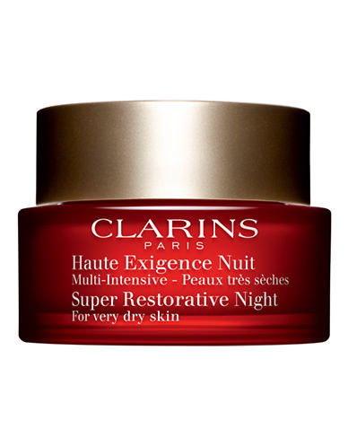 Clarins Super Restorative Night Cream Very dry skin-NO COLOUR-50 ml