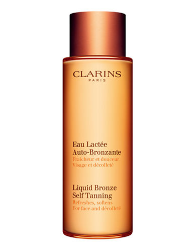 Clarins Liquid Bronze Self Tanning-NO COLOUR-125 ml