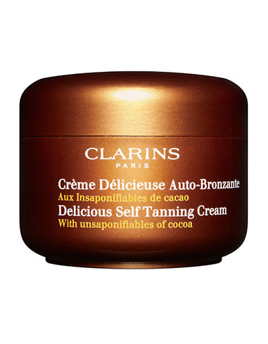 Clarins Delicious Self Tanning Cream-NO COLOUR-125 ml