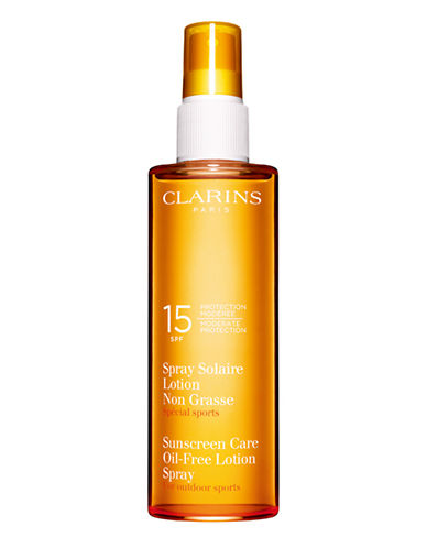 Clarins Sun Care Spray Oil-Free Lotion Moderate Protection SPF 15-NO COLOUR-150 ml