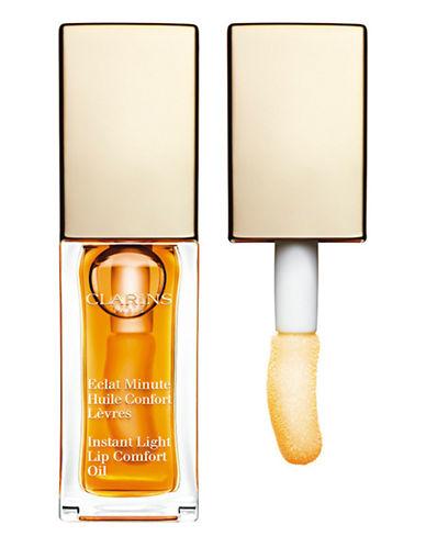 Clarins Instant Light Lip Comfort Oil-HONEY-One Size