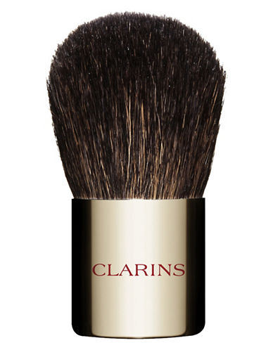 Clarins Portable Round Make-Up Brush-NO COLOUR-One Size