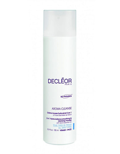 Decleor Hydraradiance Smoothing And Cleansing Mousse-NO COLOUR-200 ml