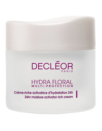 Decleor Hydra Floral 24-Hour Hydration Activating Rich Cream-NO COLOR-One Size