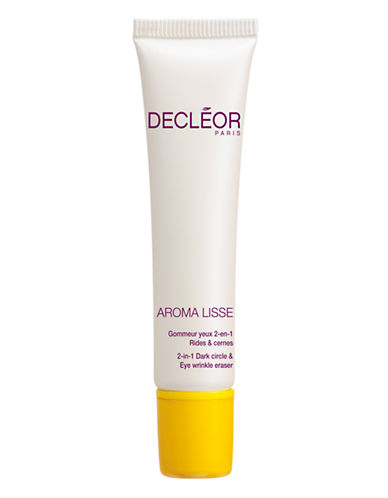 Decleor AROMA LISSE 2 in 1 Dark Circles and Eye Wrinkle Repair-NO COLOUR-15 ml