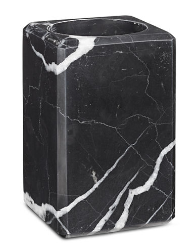 Waterworks White Marble Tissue Box Cover-WHITE-One Size