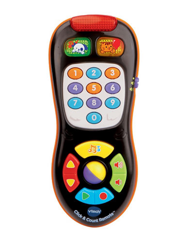 Vtech Click and Count Remote-BLACK-One Size