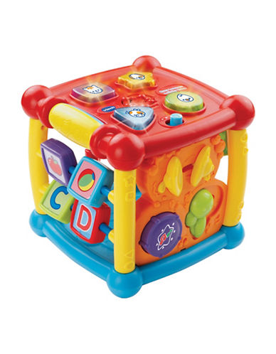 Vtech Busy Learners Activity Cube-RED-One Size