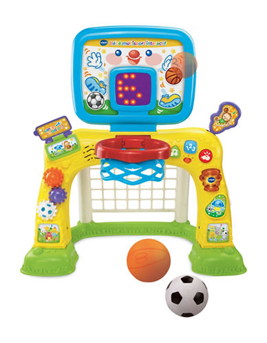Vtech Smart Shots Sports Centre - French Version-YELLOW-One Size