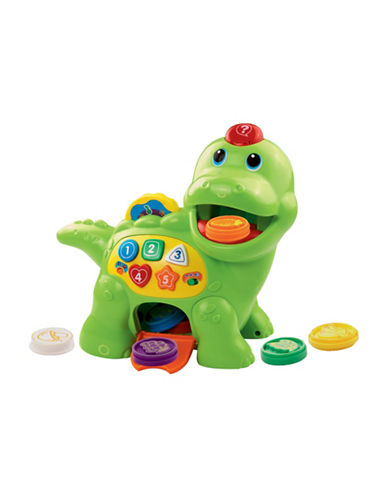 Vtech Chomp and Count Dino - English Version-GREEN-One Size