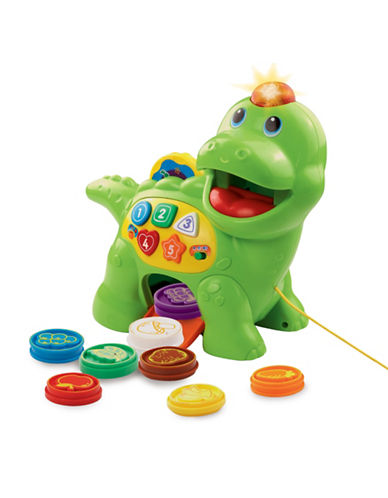 Vtech Chomp and Count Dino - French Version-GREEN-One Size