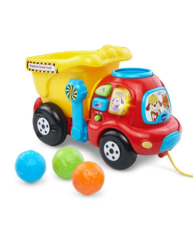 Vtech Drop and Go Dumptruck - English Version-RED-One Size
