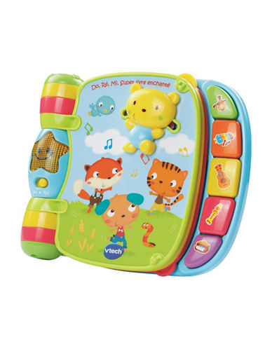 Vtech Musical Rhymes Book (French Version)-YELLOW-One Size