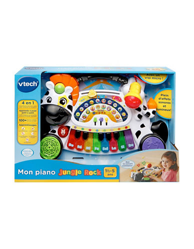 Vtech Zoo Jamz Piano (French Version)-WHITE-One Size